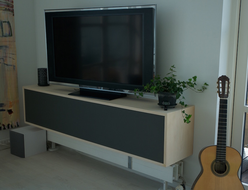 tv m bel jesper holm design og m belsnedkeri. Black Bedroom Furniture Sets. Home Design Ideas